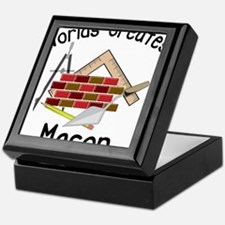 Worlds Greatest Mason Keepsake Box