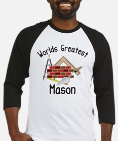 Worlds Greatest Mason Baseball Jersey