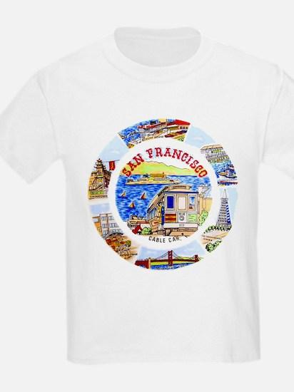 Vintage San Francisco Souvenir Graphics T-Shirt