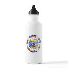 Vintage San Francisco Souvenir Graphics Water Bottle