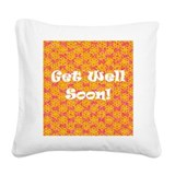 Pillows heart surgery Square Canvas Pillows