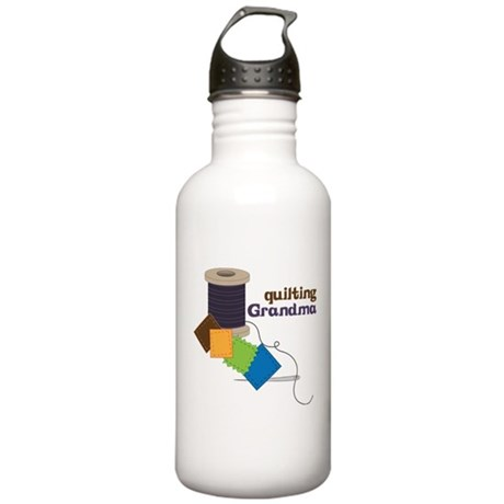 Quilting Grandma Stainless Water Bottle 1.0L