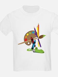 Artist Color Pallet T-Shirt