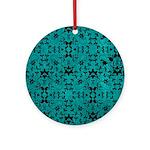 Love Patterns Ornament (Round)