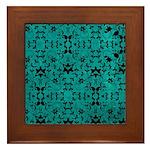 Love Patterns Framed Tile