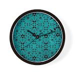 Love Patterns Wall Clock
