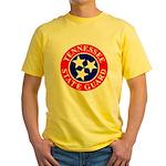 TSG logo Yellow T-Shirt