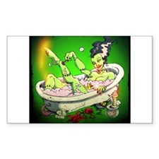 The Bride in The Bath Decal