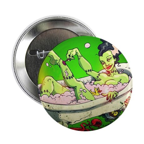 "The Bride in The Bath 2.25"" Button"