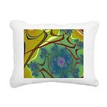 Japan Fractal Rectangular Canvas Pillow