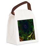 Japan Fractal Canvas Lunch Bag