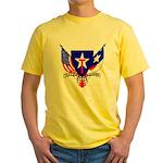 TSG emblem Yellow T-Shirt