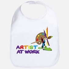 Artist At Work Bib
