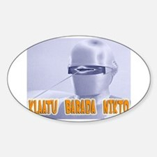 Klaatu barada Nikto Rectangle Decal
