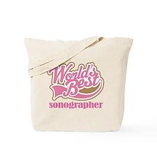 Sonographer (Worlds Best) Tote Bag