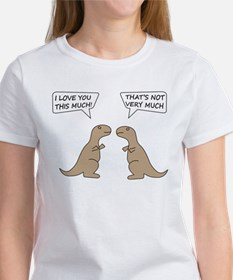 T-Rex Feelings, Hilarious Women's T-Shirt