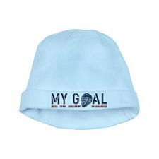 My Goal, Lacrosse Goalie baby hat