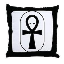 Ankh Throw Pillow
