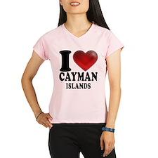 I Heart Cayman Islands Performance Dry T-Shirt