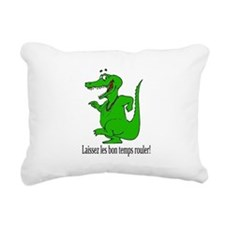 LaissezlesLTShirt.png Rectangular Canvas Pillow