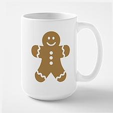 Lebkuchen man gingerbread Large Mug