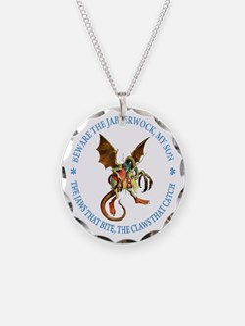 Beware the Jabberwock, My Son Necklace