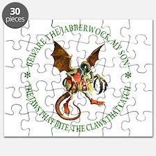 Beware the Jabberwock, My Son Puzzle