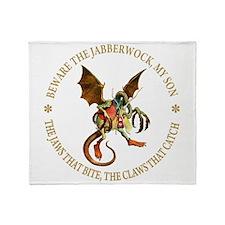 Beware the Jabberwock, My Son Throw Blanket