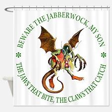Beware the Jabberwock, My Son Shower Curtain