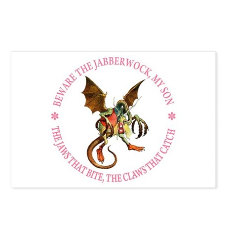 Beware the Jabberwock, My Son Postcards (Package o