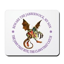 Beware the Jabberwock, My Son Mousepad