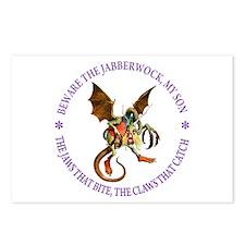 Beware the Jabberwock, My Postcards (Package of 8)
