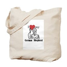 Cute Church Tote Bag