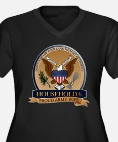 Household 6 - Army Wife Women's Plus Size V-Neck D