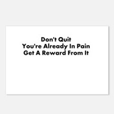 DONT QUIT Postcards (Package of 8)
