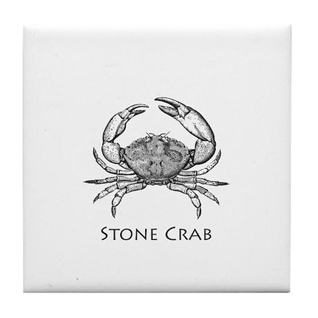 Stone Crab Logo Tile Coaster