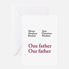Abraham Our Father Greeting Card