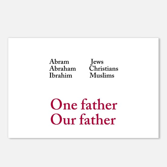 Abraham Our Father Postcards (Package of 8)