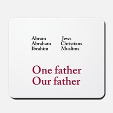 Abraham Our Father Mousepad