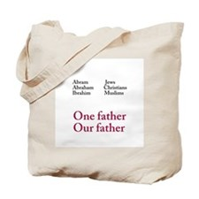 Abraham Our Father Tote Bag