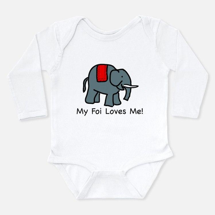 My Foi Loves Me Infant Creeper Body Suit