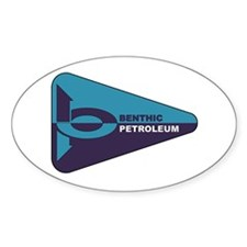 Benthic Petroleum Oval Decal