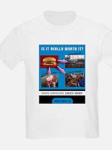 Choose Compassion, Choose Vegan T-Shirt