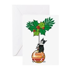 Boston on Ornament Greeting Cards (Pk of 10)
