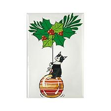 Boston on Ornament Rectangle Magnet