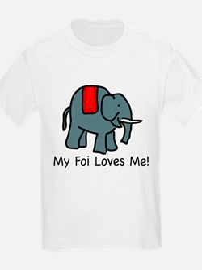 My Foi Loves Me Kids T-Shirt T-Shirt