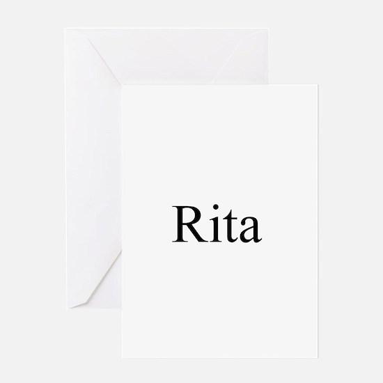 Rita 2 Greeting Card