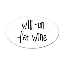 s_willrunforwine3.png Wall Sticker