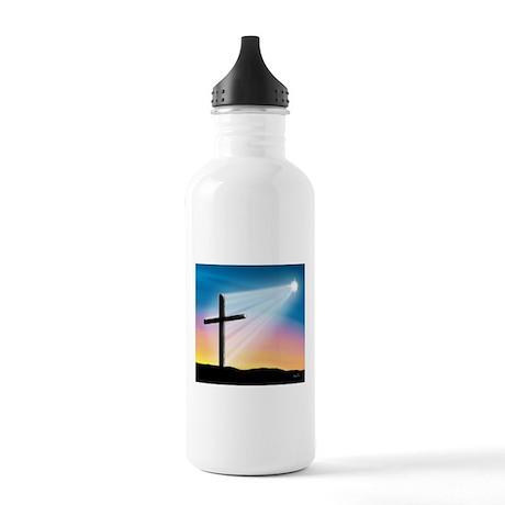 Sunset Cross Enlightened 10x10 Stainless Water Bot