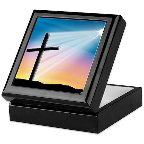 Sunset Cross Enlightened 10x10 Keepsake Box